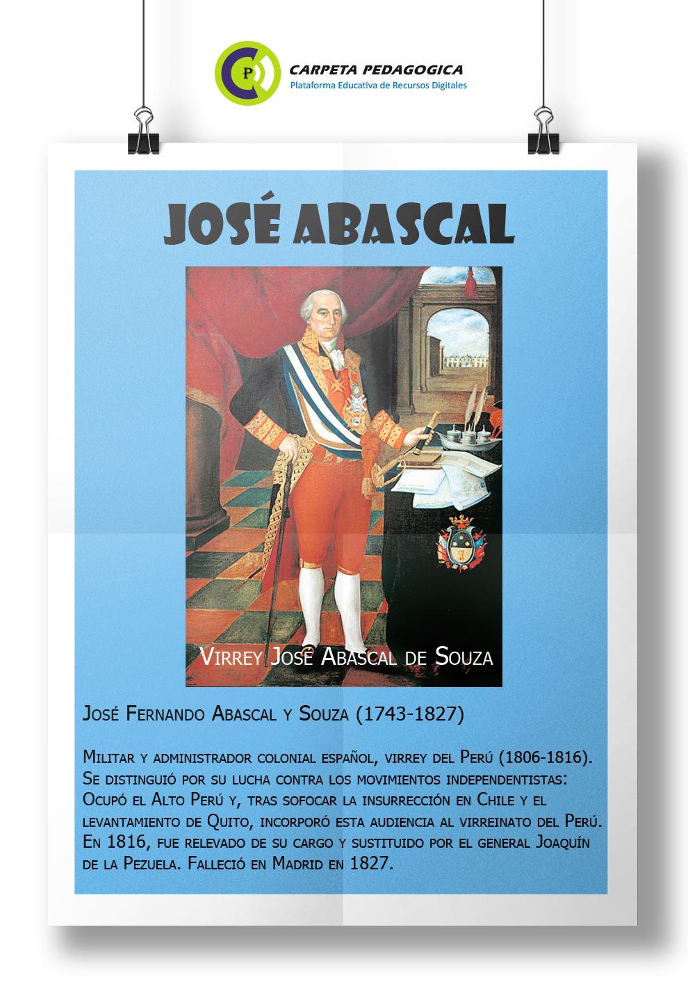 José Abascal - Abascal contra las Juntas de Gobierno en América