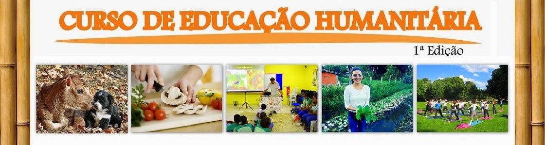 CURSO DE EDUCAÇÃO HUMANITÁRIA