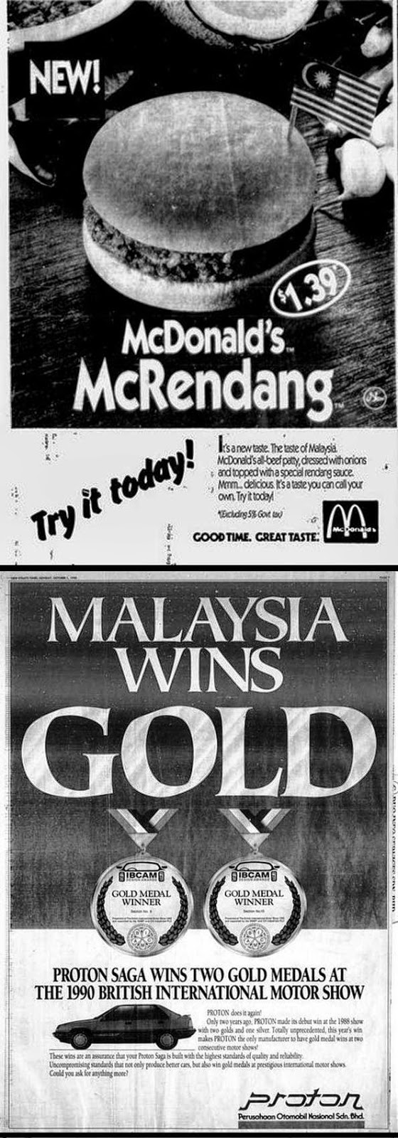 classic ADVERTISEMENTS in Malaysia Newspaper 20 years ago 14 images