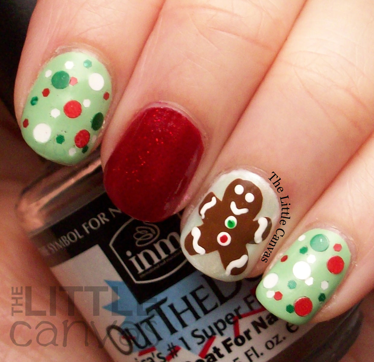Gingerbread Man Nails | Best Nail Designs 2018