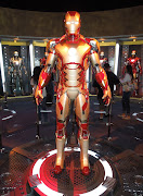 360° view of the Iron Man Mark 42 suit. Iron Man 3 Mark 42 armor (ironman armor mark )