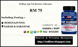 SELLING - API FAT BURNER ADVANCE