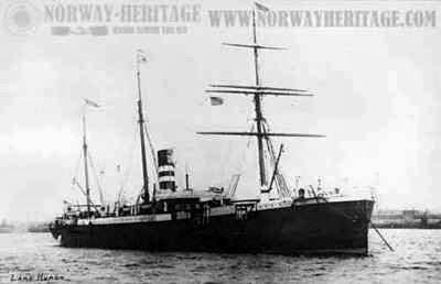 Lake Huron ship