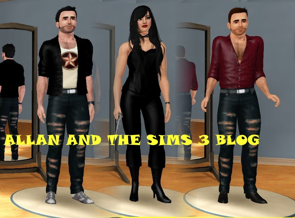 ALLAN AND THE SIMS 3 BLOG