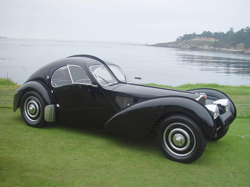 classic car posters bugatti type 57sc. Black Bedroom Furniture Sets. Home Design Ideas