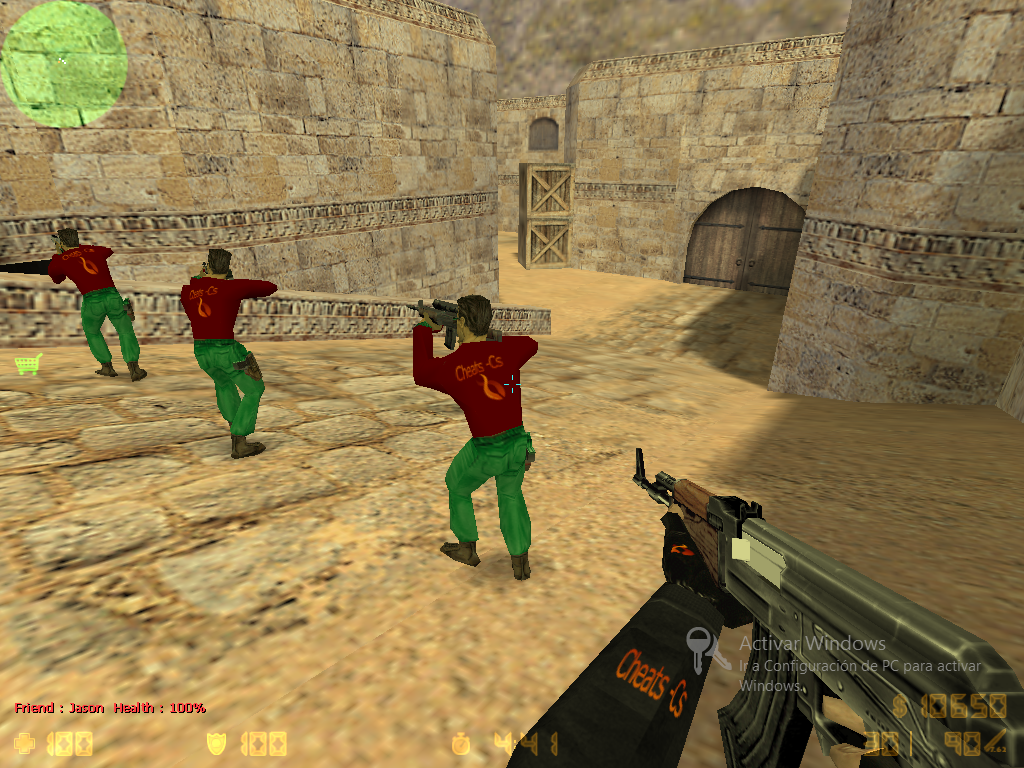 Original Counter-Strike 1.6 Player Models: A CT & T Packs Skin submitte