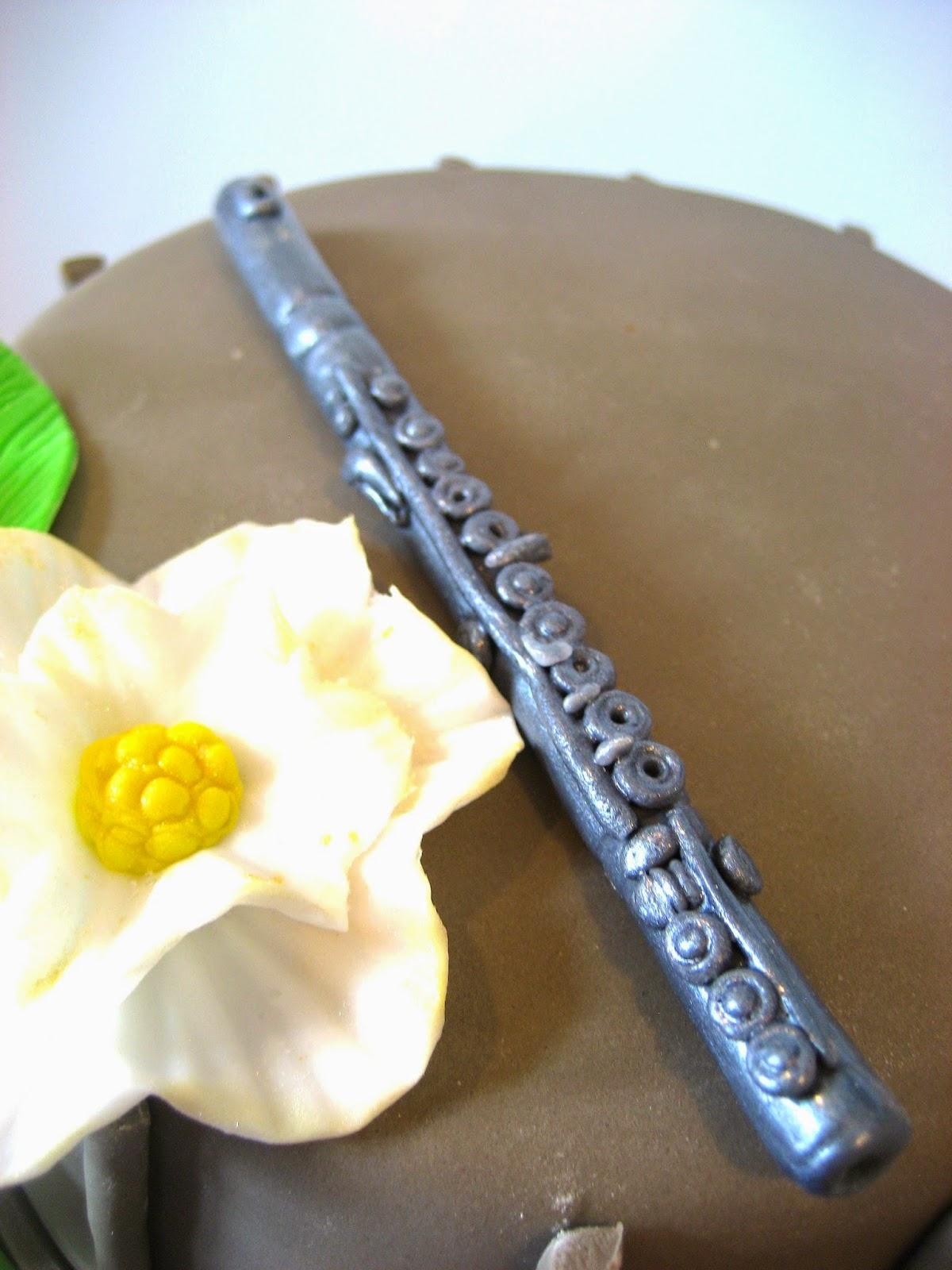 how to make a flute cake