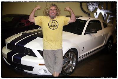 Sammy Hagar Shelby Mustang