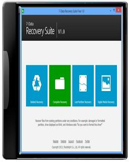 تحميل برنامج استعادة الملفات المحذوفه download 7data recovery 2013