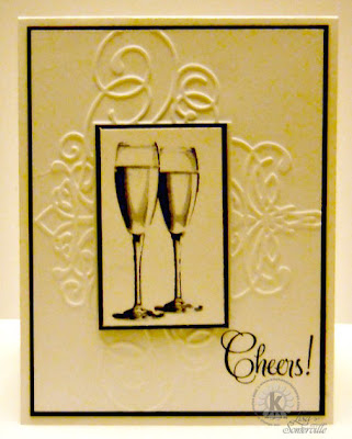 Stamps - Kitchen Sink Stamps Multi Step Champagne Celebration