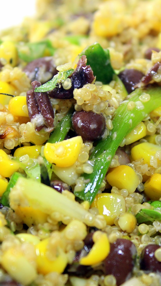 52 Ways to Cook: Black Bean and Quinoa Salad - Grilling Time Side Dish
