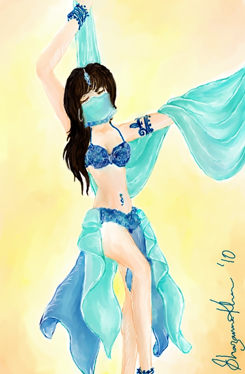 The Muses: Belly Dancer