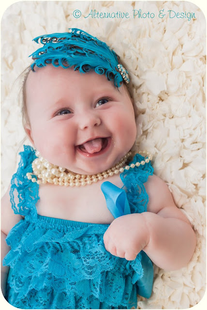 Miss {Z} 4 Months | Baby Photographer Janesville, WI