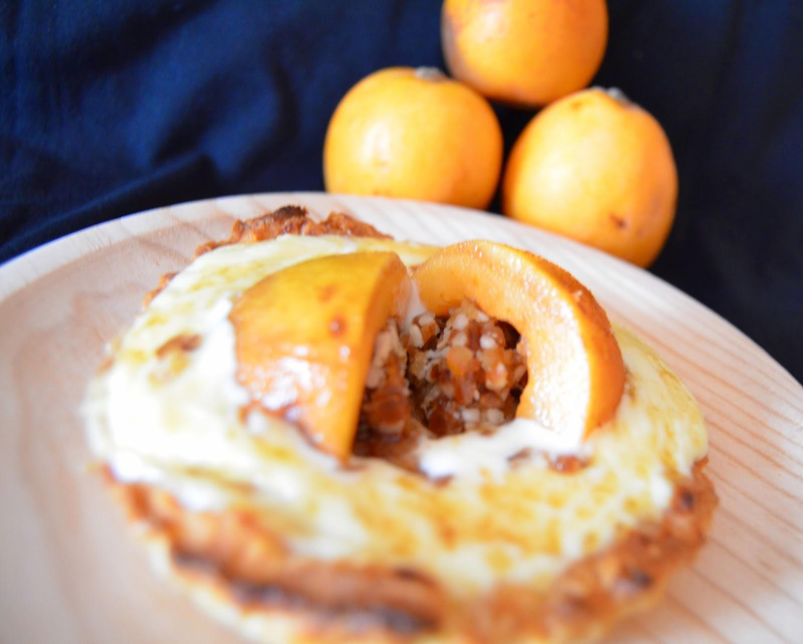 Las delicias de mayte tartaleta de camembert con nispero for Cocinar nisperos