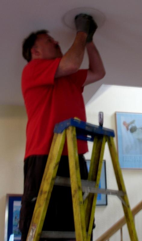 Kim kasch blogsite a writer 39 s blog repurposing an old for Repurpose ceiling fan motor