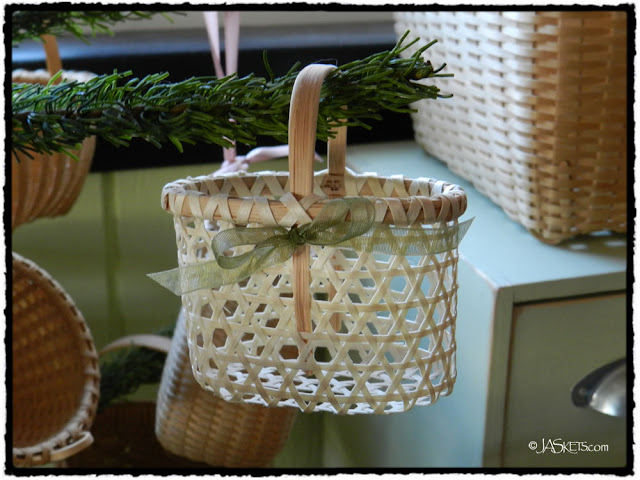 2012 Alice Ogden Christmas Ornament Basket