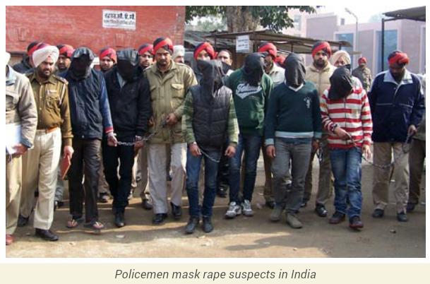 Nigerian Woman Gang-Raped In India