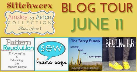 The Berry Bunch: Ainsley and Aiden by Stitchwerx: Blog Tour
