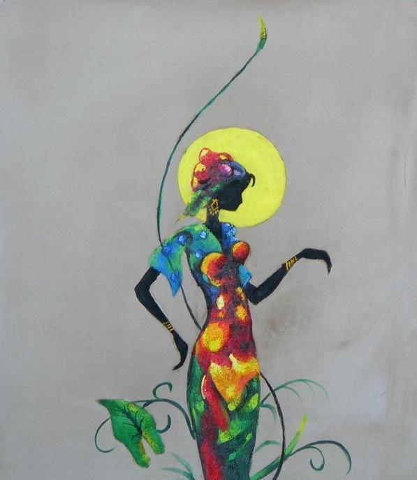 Conosciuto L'Arte accessibile:Arredare con i Dipinti a Olio: Le Donne  AG89