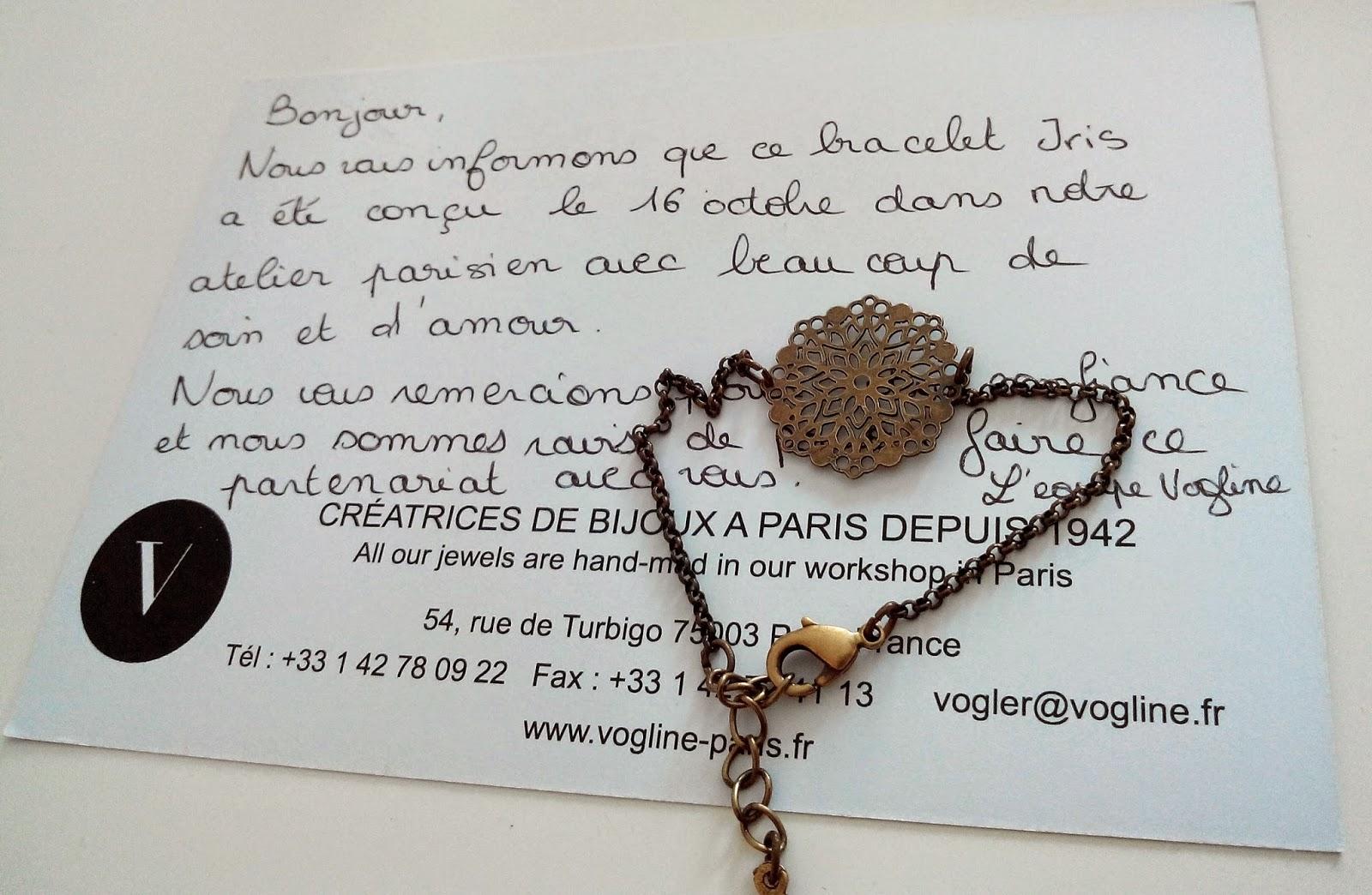 bracelet, vogline, cadeaux, créateur, Bull'Elodie