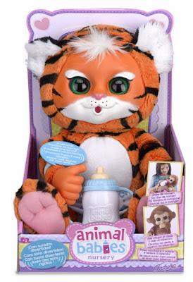 TOYS : JUGUETES - ANIMAL BABIES Tigre : Muñeco de Peluche Producto Oficial 2015 | Famosa 700011802 | A partir de 2 años Comprar en Amazon España