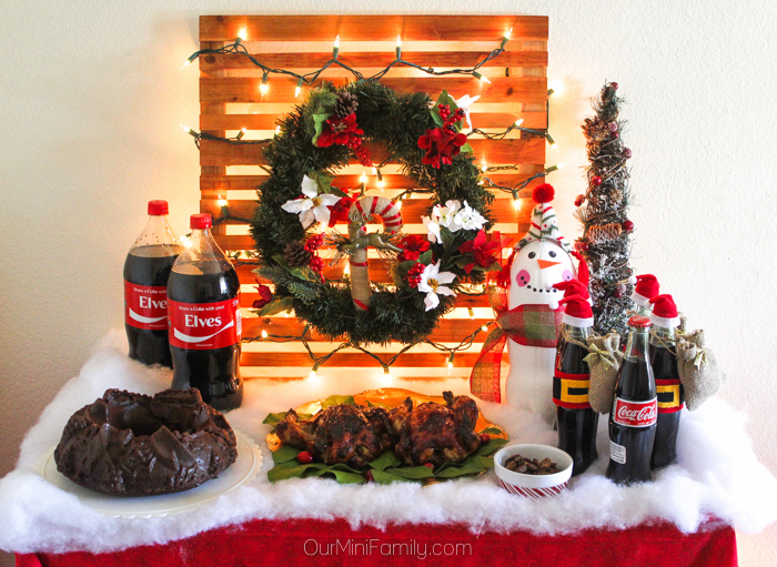 Falalalala lala la la! Adam and I are completely and totally in love with  the holidays right now, so we figured what better way to show our holiday  spirit ... - How To Host A Holiday Party With Coca-Cola - Our Mini Family