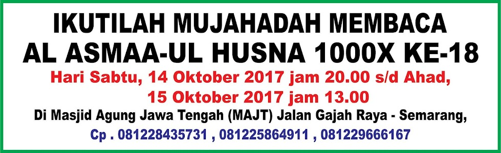 info mujahadah