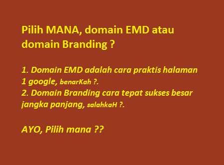 cara memilih nama domain yang baik, benar dan tepat