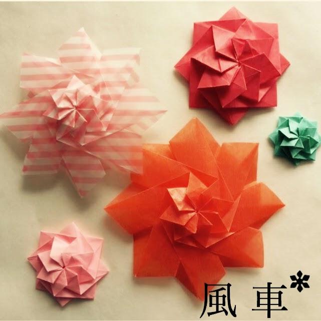 """""""布施知子さんの花飾り折り紙"""""""