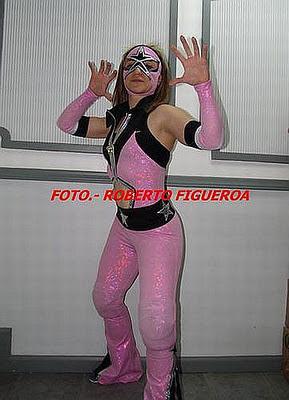 Luchadora Sexy Star-Lucha Libre