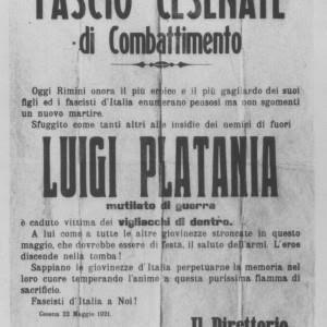 RIMINI 19 maggio 1921