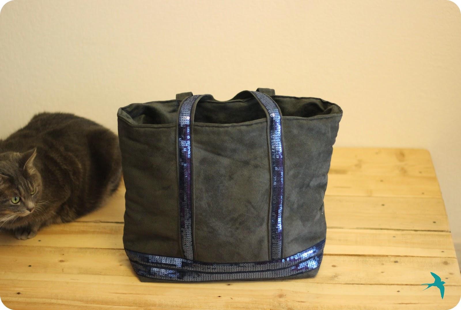 Tuto couture sac vanessa bruno - Tuto grand sac cabas ...