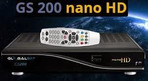 ATUALIZAÇÃO  GLOBALSAT GS 200 NANO HD  - v 156 - 06/02