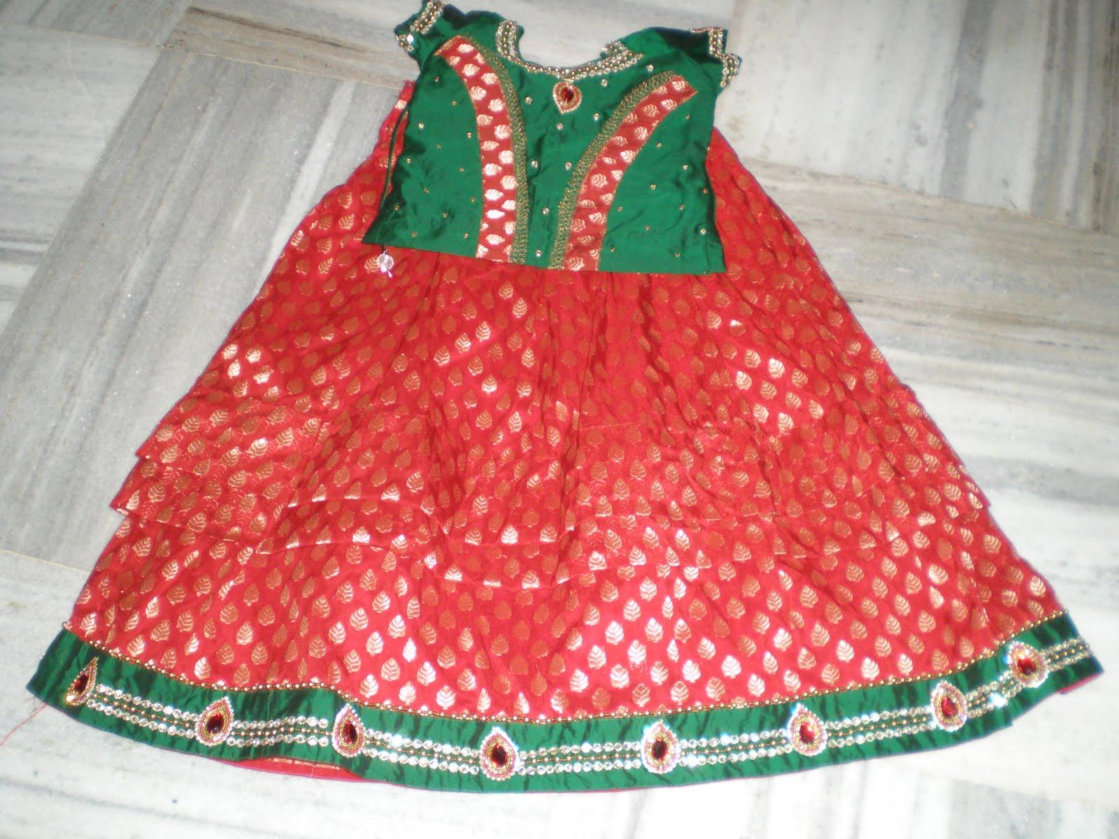 Sparkling Fashion Exclusive Langa Blouse Designs For Kids