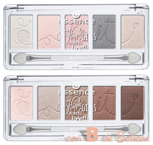 Paleta de sombras Happy girls