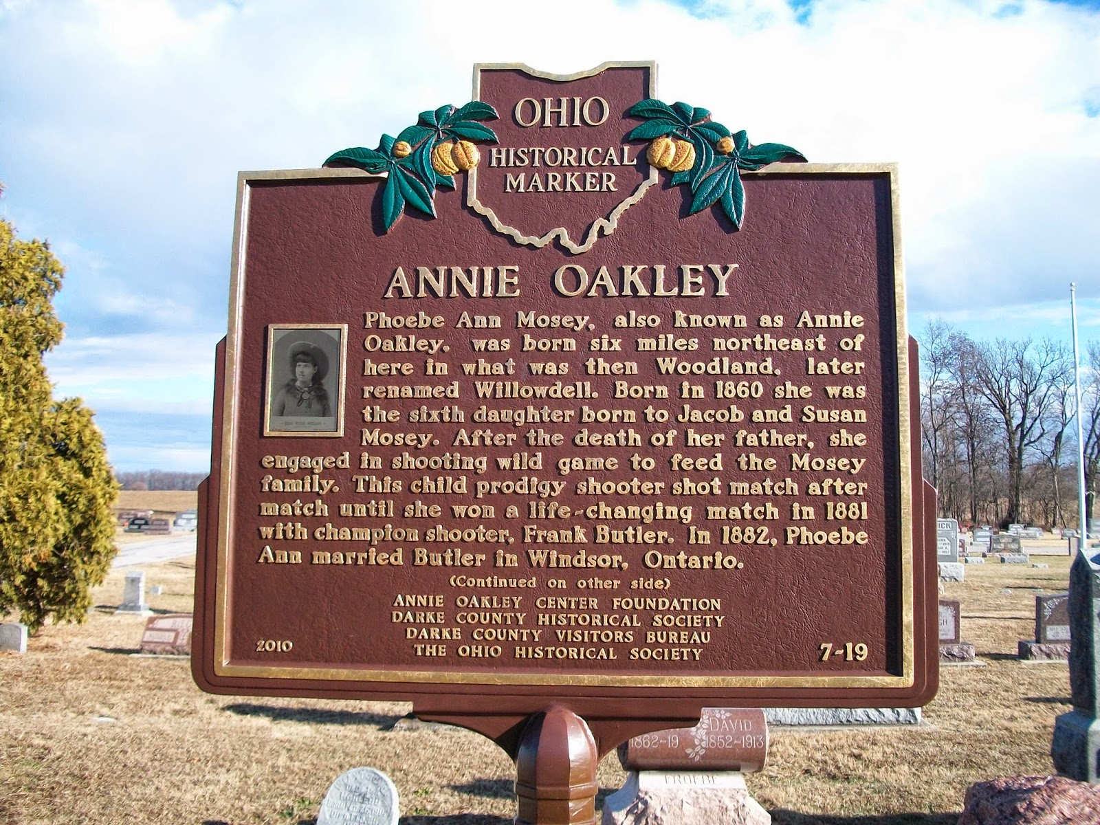 How Did Annie Oakley And Frank Butler Died Www Tapdance Org