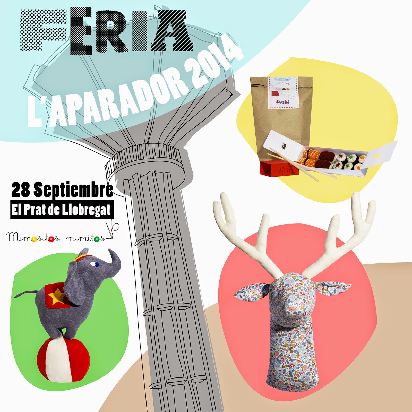feria artesanal craft handmade DIY muñeco hechoamano aparador 2014 fira prat