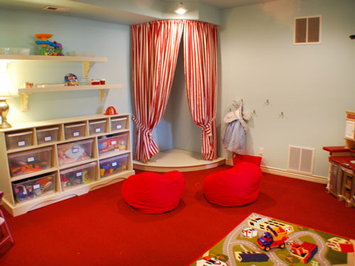 Kids Playroom Stage Ideas
