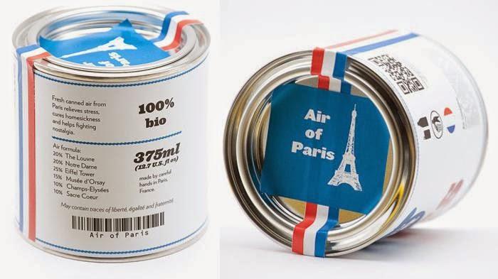 Udara Segar di Menara Eiffel Kini Dijual Rp 130 Ribu Per Kaleng