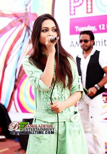 Singer Moumita Tashrin Nodi