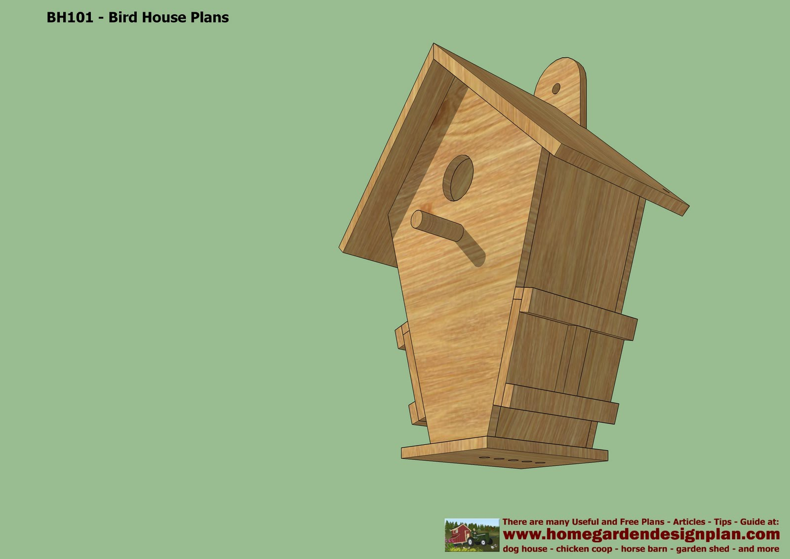 A plans woodwork birdhouse plans free pdf diy for Song bird house plans