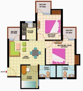 Amrapali Leisure Park :: Floor Plans