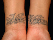 Tattoos On Wrist Names With Designs