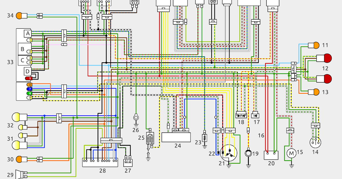 Nsr Lab  Colour Wiring Diagram