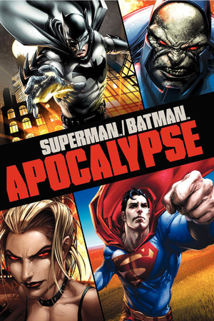 Poster Superman/Batman: Apocalypse 2010