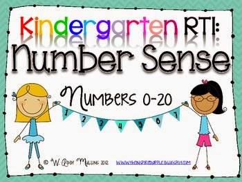 RTI for K: Number Sense