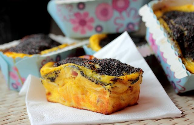 torta salata, plumcake salato, plum cake, scamorza