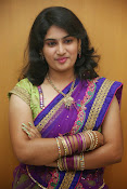 Krishnaveni glam in half saree-thumbnail-20