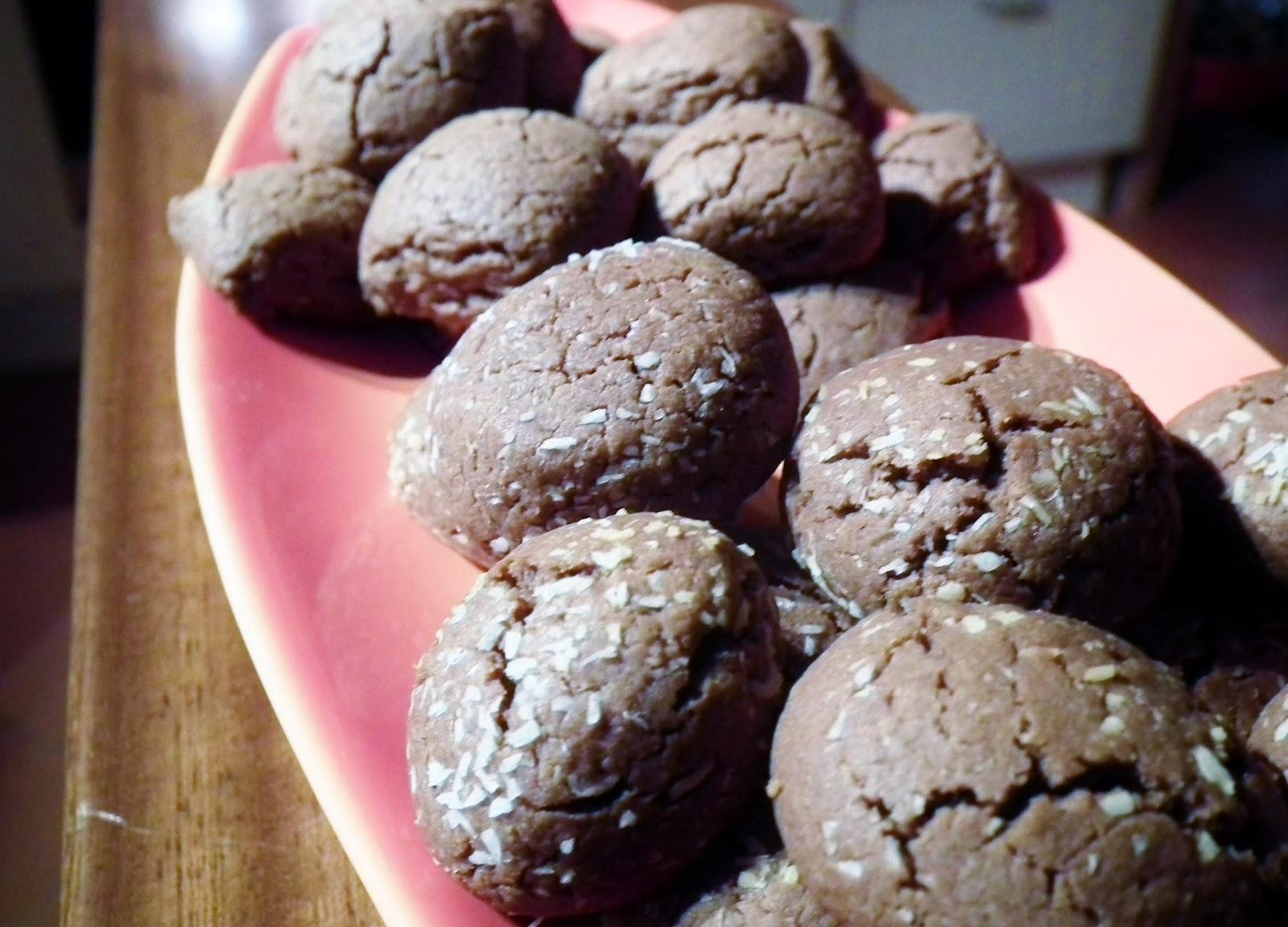 biscotti alla nutella ( veloci e senza lievito)