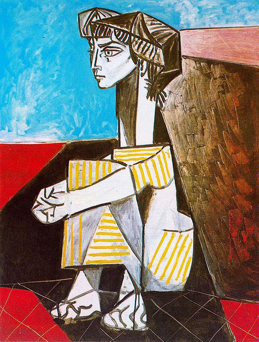 Picasso doesn't appear to be interested in paint or light or the things that ...